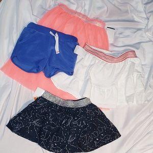 NWOT Girl's 2T Skirt Bundle
